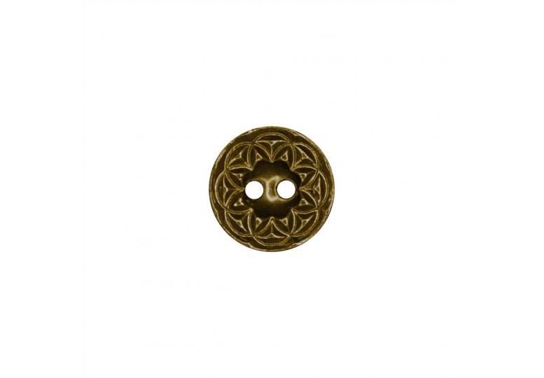 Metalize Kaplamalı Düğme - MK 2028