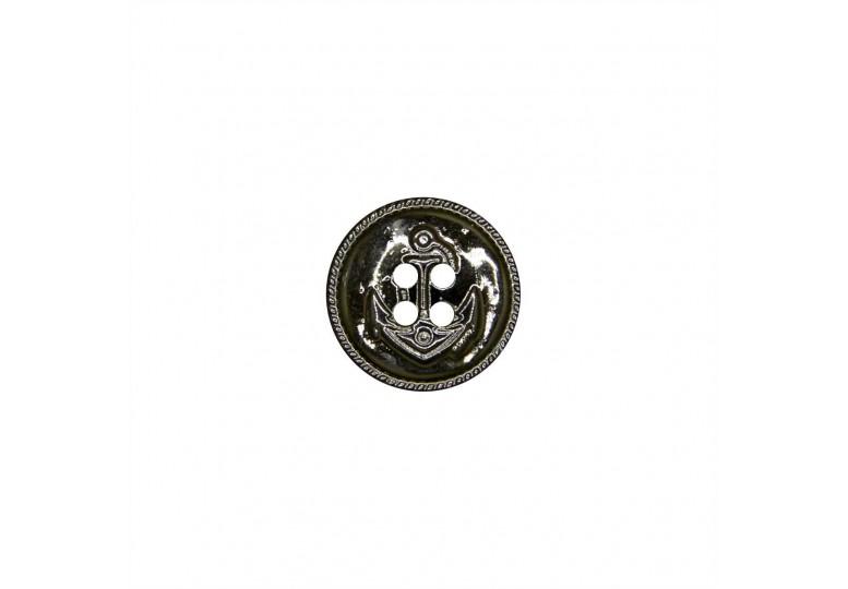 Metalize Kaplamalı Düğme - MTK Y003