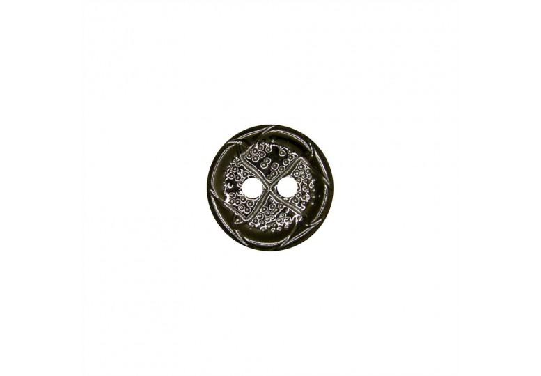 Metalize Kaplamalı Düğme - MTK Y010