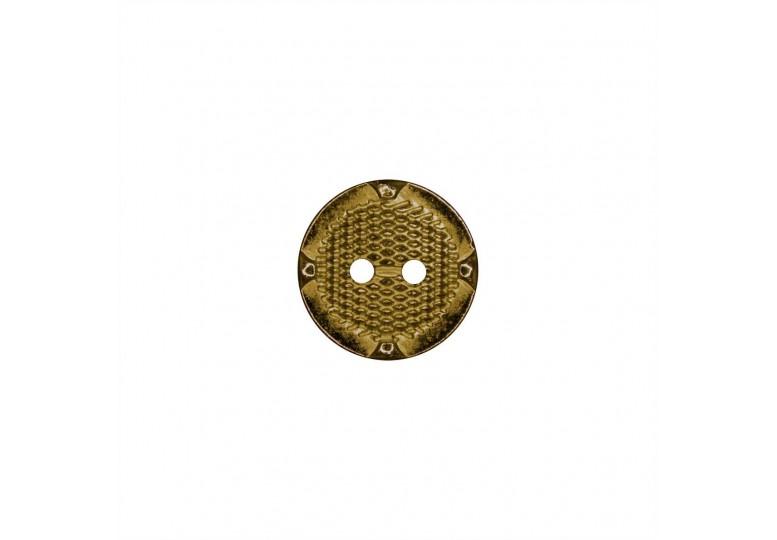 Metalize Kaplamalı Düğme - Q25 K854