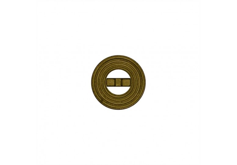 Metalize Kaplamalı Düğme - Q26 A1