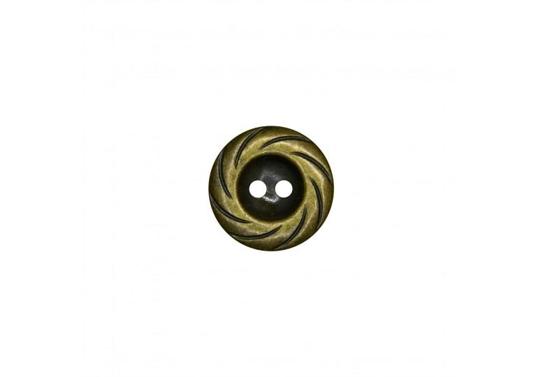 Metalize Kaplamalı Düğme - Q57 658