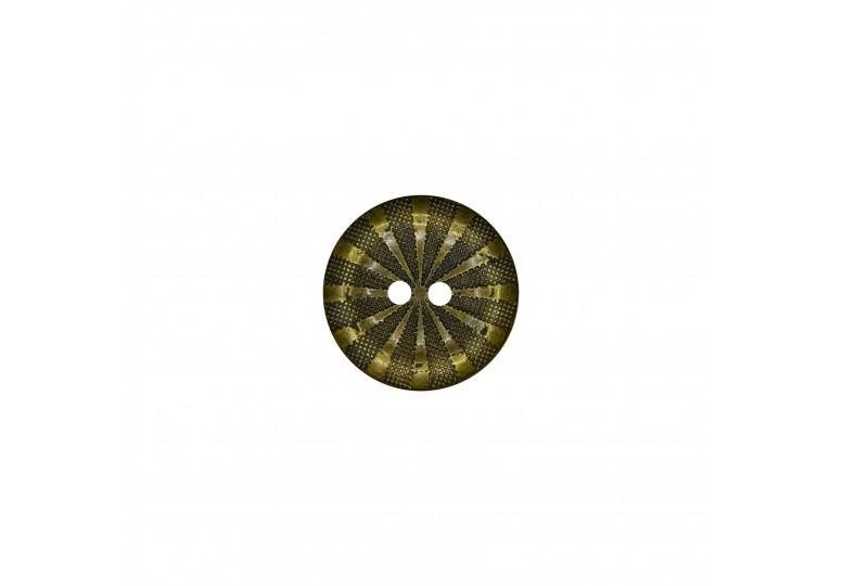 Metalize Kaplamalı Düğme - Q57 H636